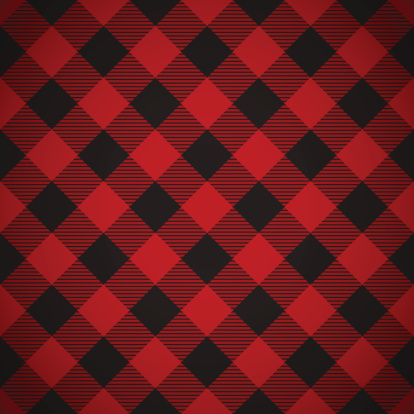 Black and red plaid background clipart.