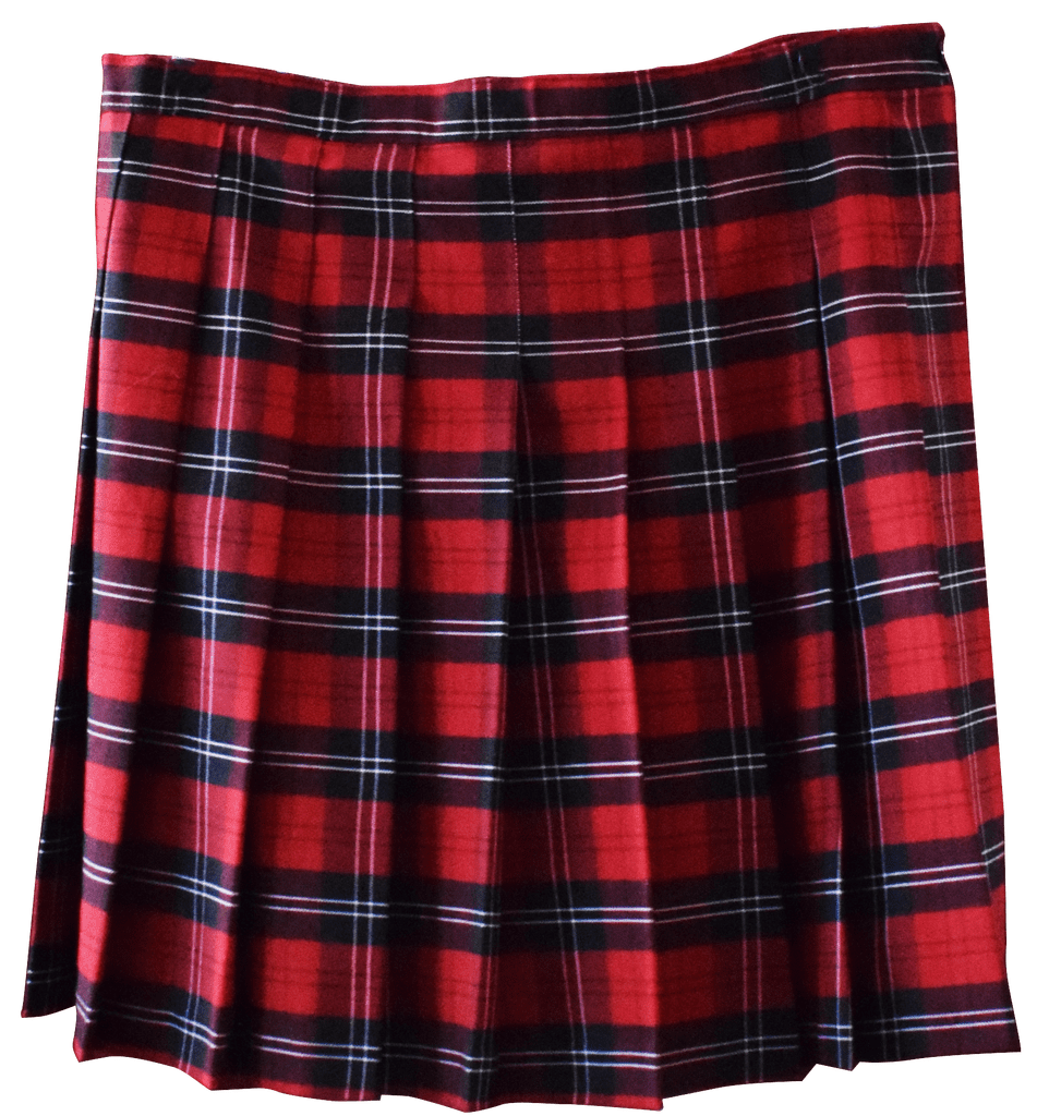 King Drew Plaid Skirt.