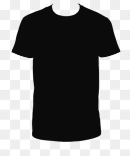 Black T Shirt Clipart.