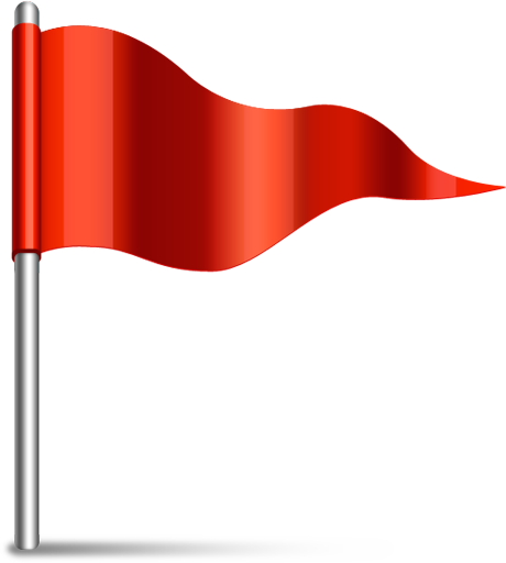 Red Flag Image.