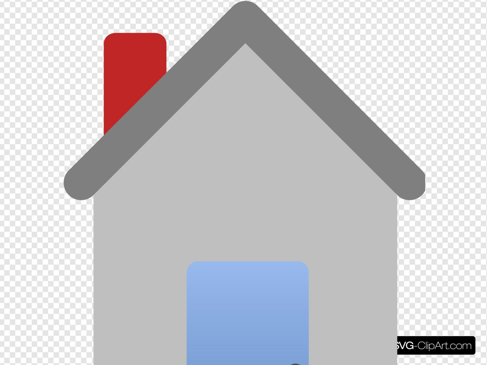 House Plain Clip art, Icon and SVG.