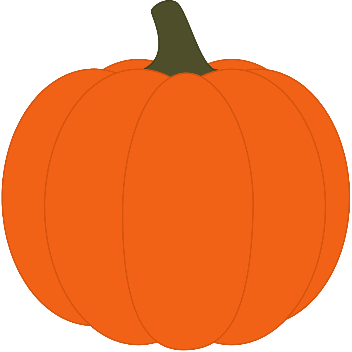 Cute Pumpkin Clipart Png.