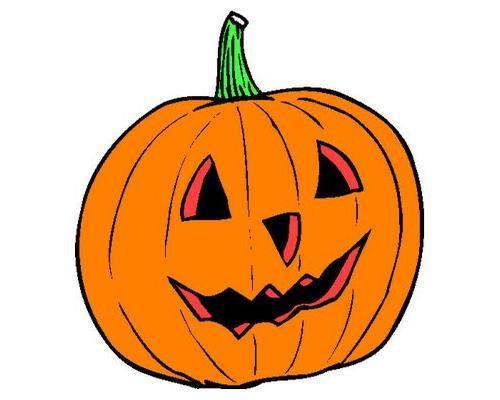 Plain Pumpkin Clipart.