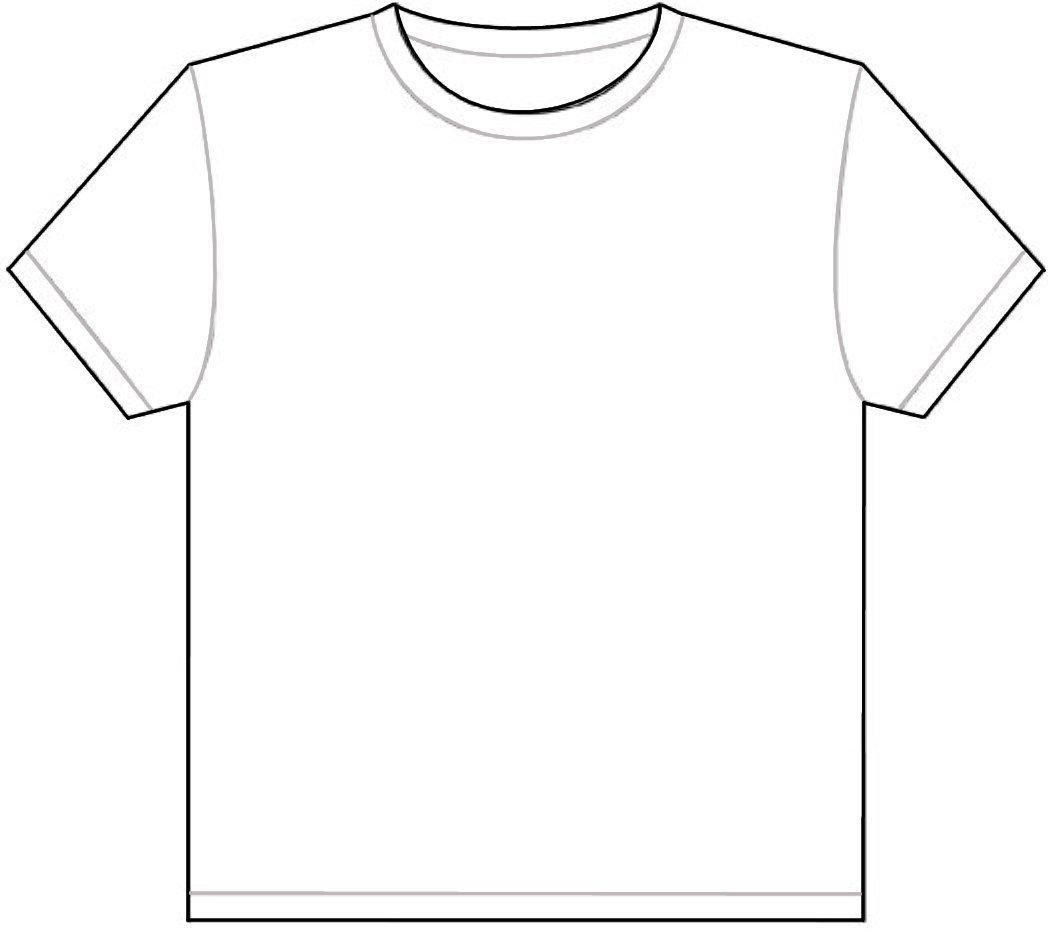 90+ White T Shirt Clipart.