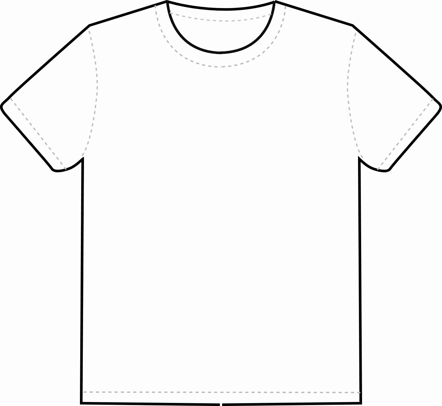 color pages ~ Color Pages Plain Tshirt Clipart Blank T Shirt.