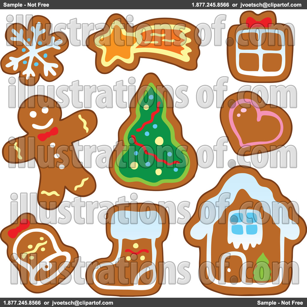 Gingerbread Clip Art Free.