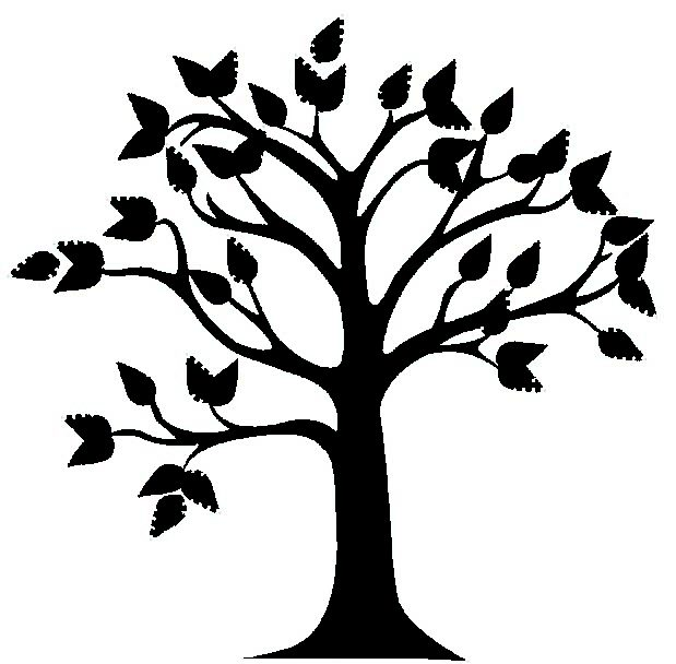 Tree Clip Art Vector.