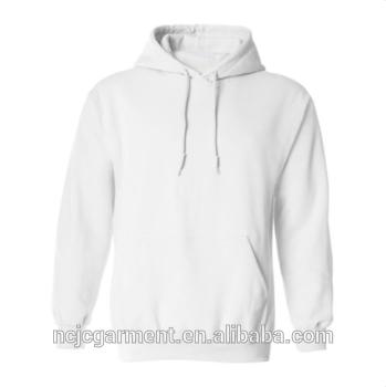 Hot Sale Men Women Pullover Blank Plain White Sweatshirt Hoodies.