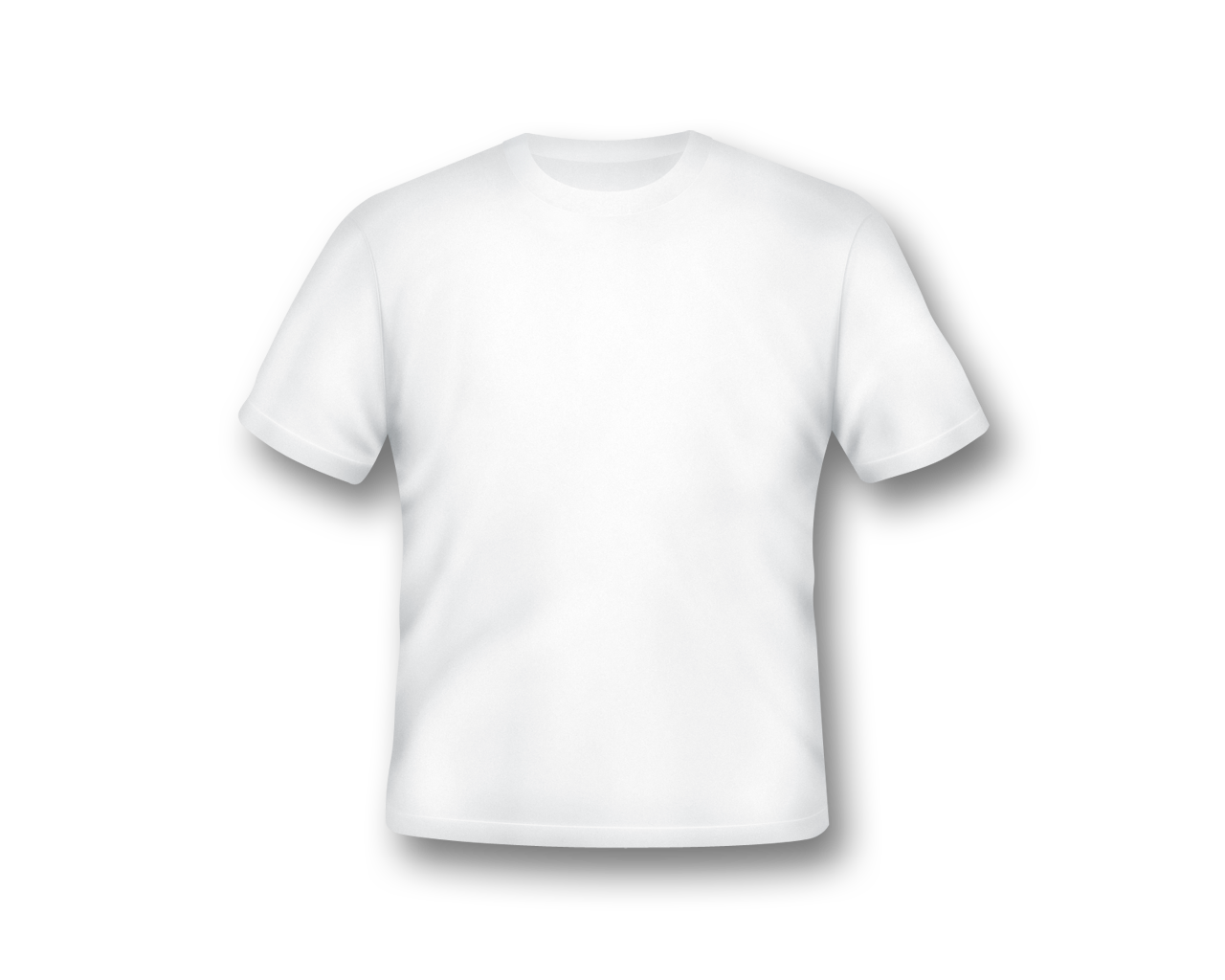 Download Blank White T Shirt Template PNG.