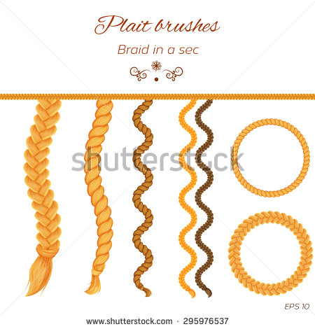 Braids Stock Images, Royalty.