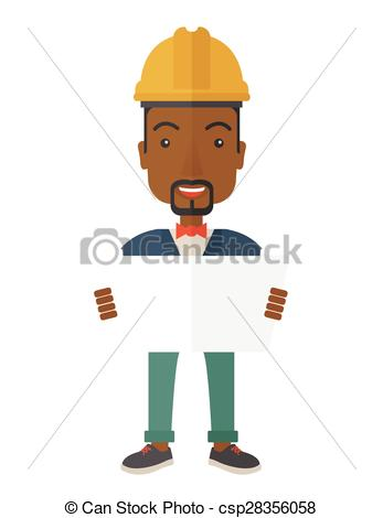 Clipart Vector of African.