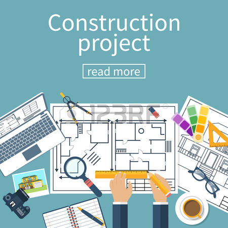 4,675 Planning Construction Stock Vector Illustration And Royalty.