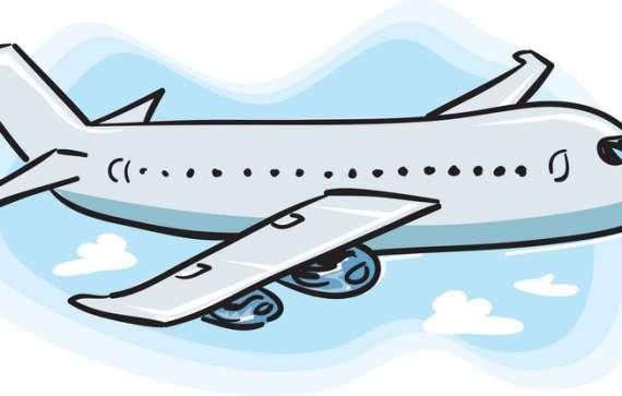 Boarding A Plane Clip Art.