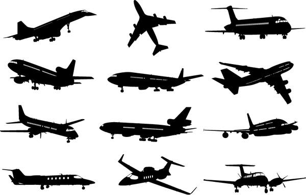 Vector Airplane Clipart Free vector in Adobe Illustrator ai ( .ai.