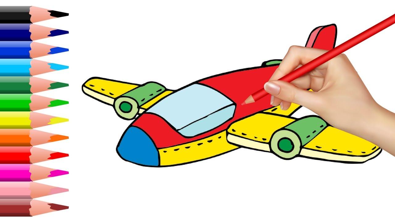 How to Draw Jet Plane.