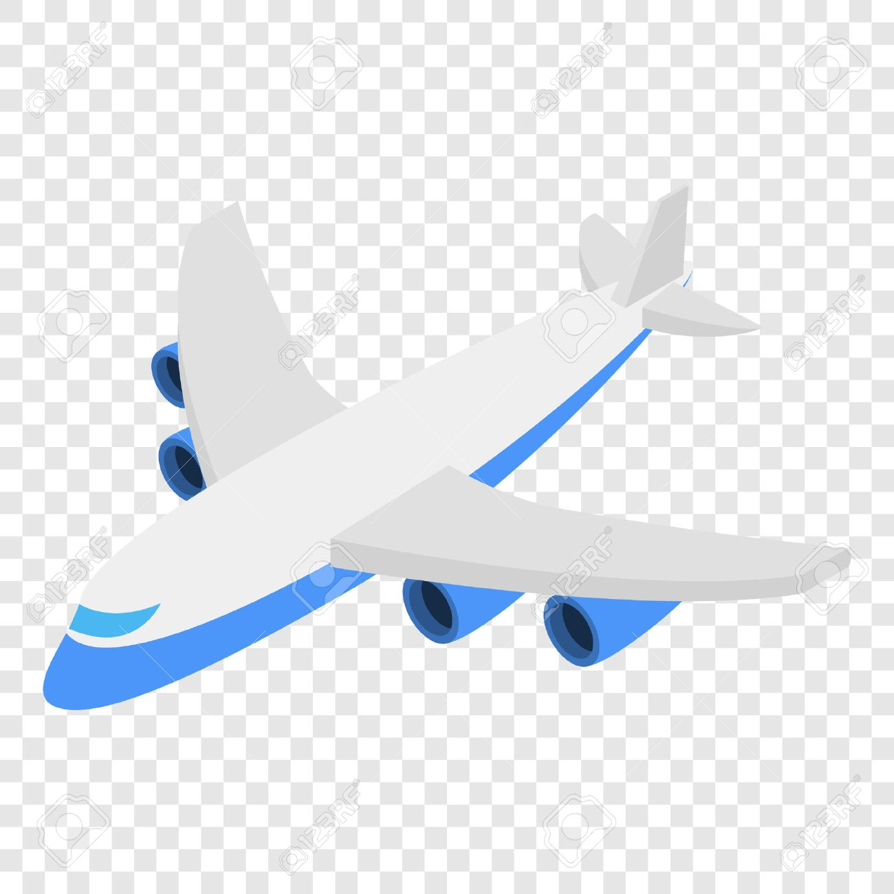 Airplane Clipart With Transparent Background.