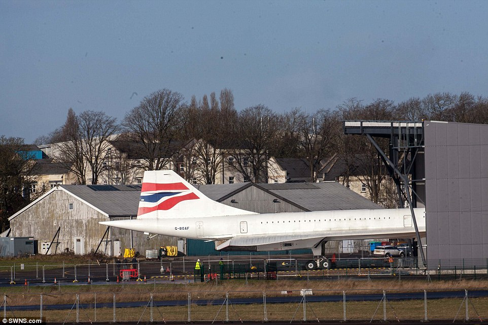 Concorde's last journey to a £19million aerospace museum.