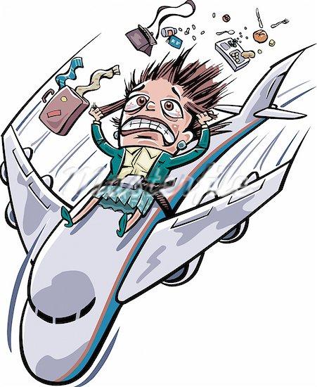 Plane crash clip art.