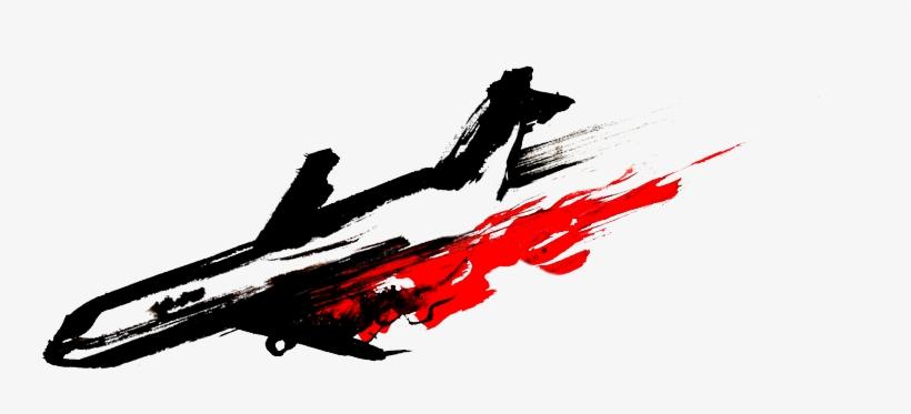 Plane Crash Png.