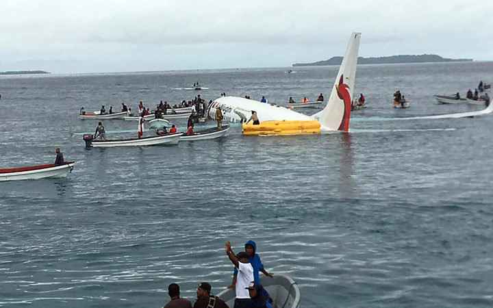 Body discovered after FSM plane crash.
