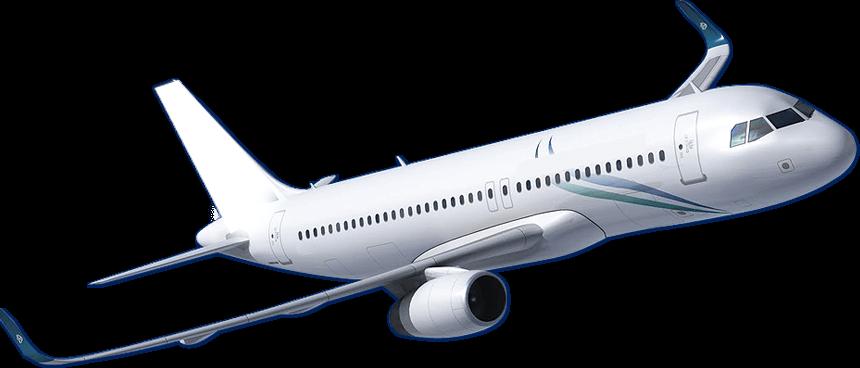 Flying Plane transparent PNG.