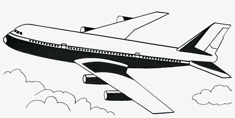 Free Clipart Of A Plane.