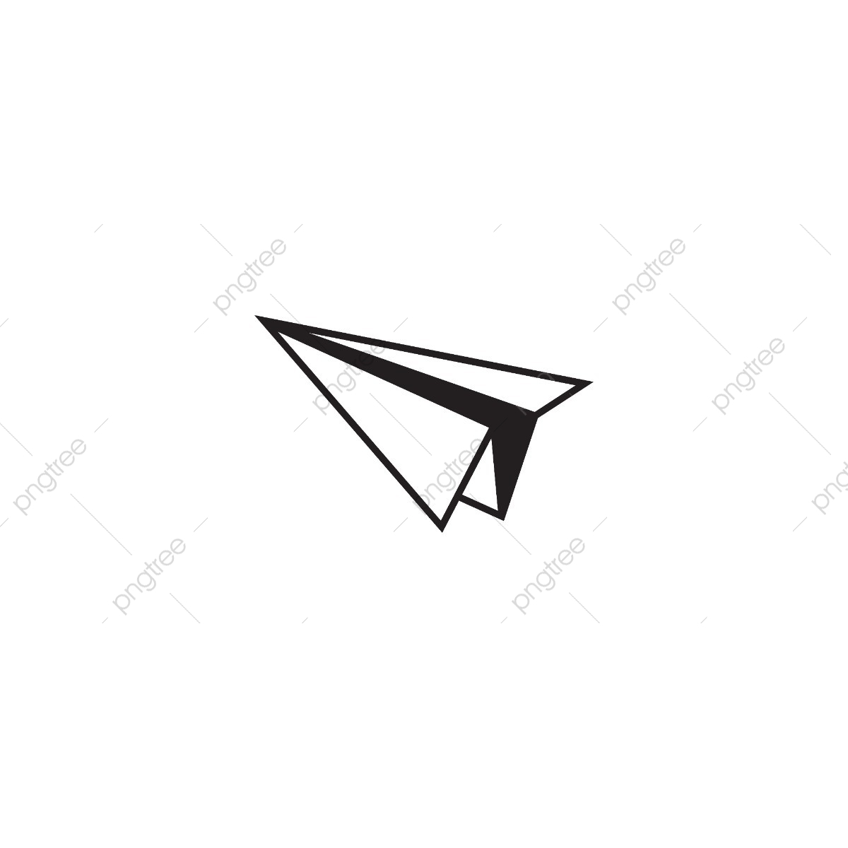 Paper Plane Graphic Template, Plane, Graphic, Symbol PNG and.
