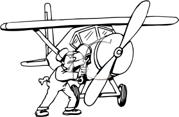 Aircraft Mechanic Clip Art.