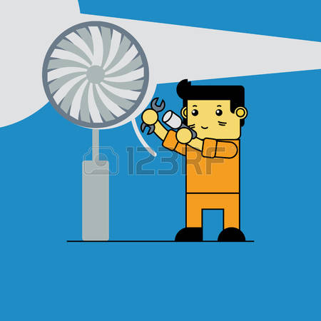 544 Aircraft Mechanic Stock Vector Illustration And Royalty Free.