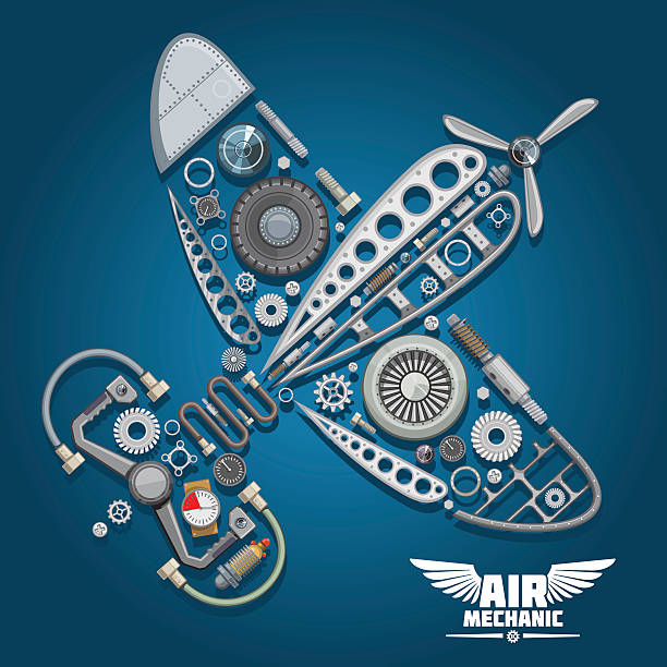 Aircraft Mechanic Clip Art, Vector Images & Illustrations.