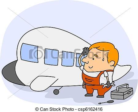 Aircraft mechanic Illustrations and Clipart. 256 Aircraft mechanic.