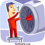 Maintenance Vector Clip art.