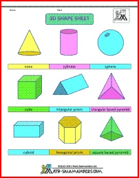 1000+ images about 2D 3D shapes on Pinterest.