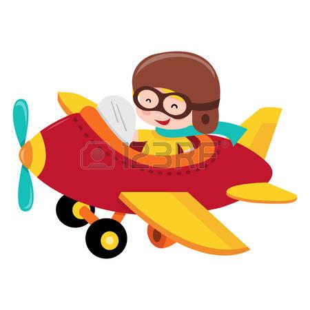plane pilot clipart #13