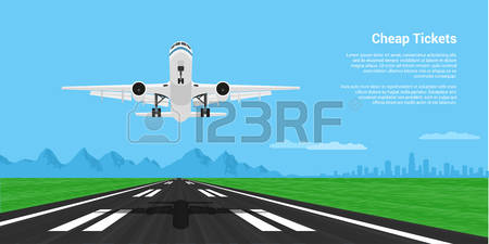 2,238 Airport Runway Stock Illustrations, Cliparts And Royalty.