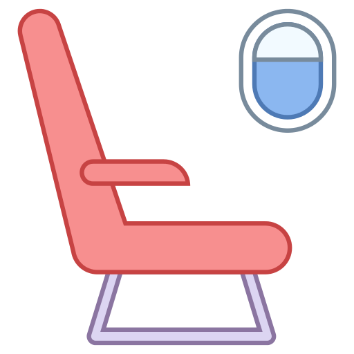 Flight Seat Icon.