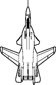 Fighter Jet Plane Clip Art at Clker.com.