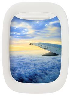 Airplane Window Picture Frames.