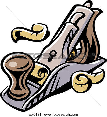 Clipart of A wood planer apl0131.