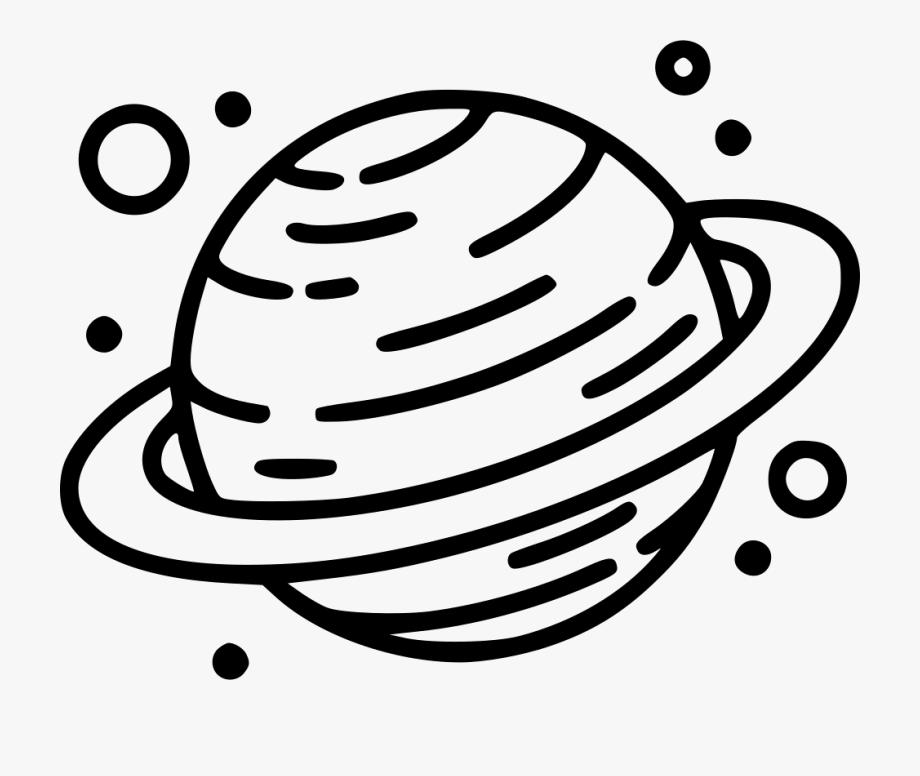 Planet Svg Saturn.