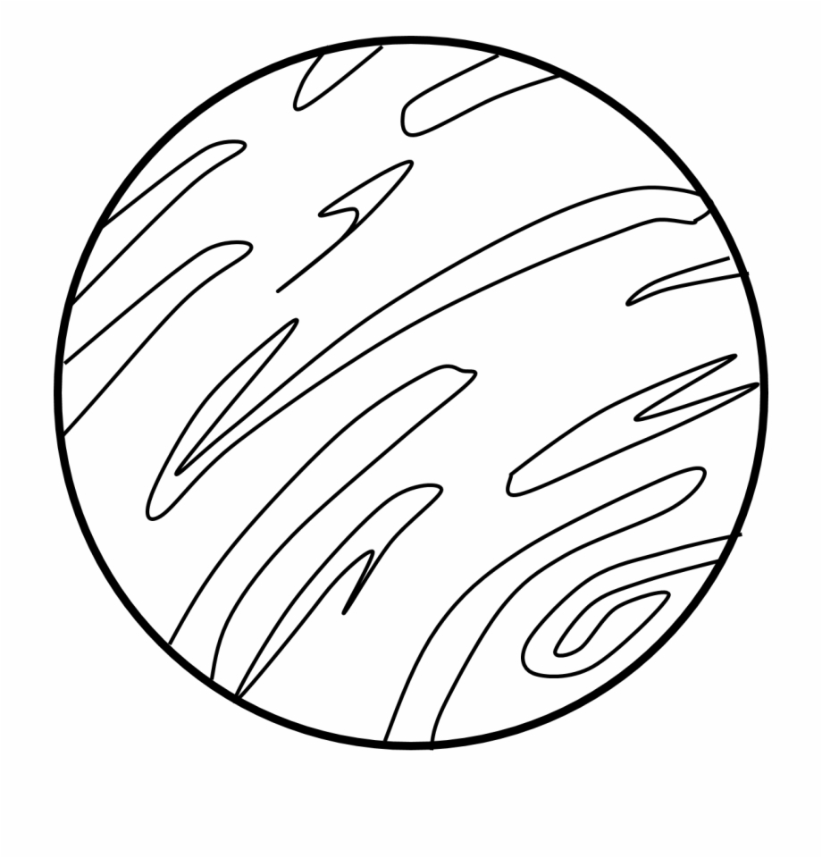 Black And White Planet Clipart Clip Art Library.