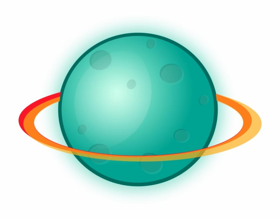 Cartoon Planet Clipart Kid.