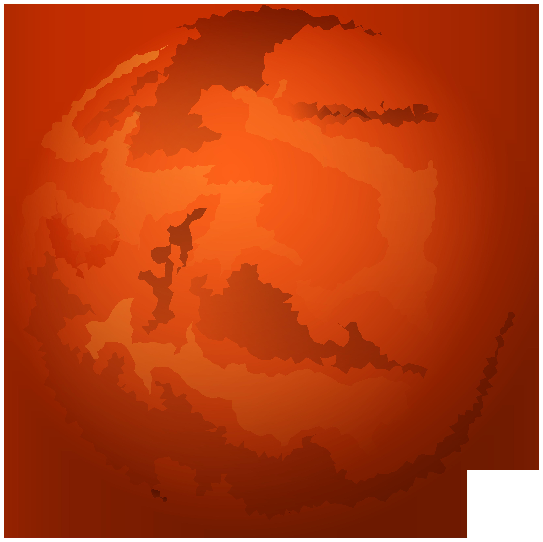 Mars PNG Clip Art.