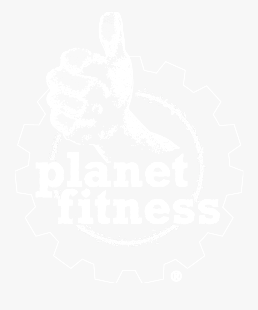 Planet Fitness White Png.