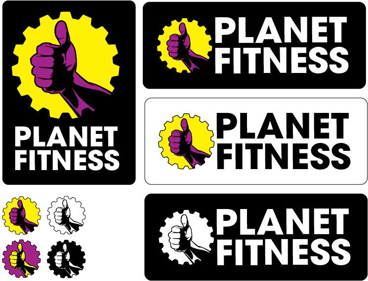 planet fitness logo #4