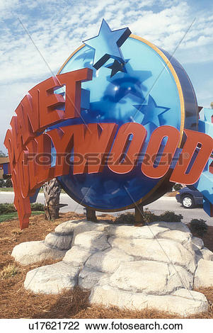 Stock Photo of Myrtle Beach, Planet Hollywood, South Carolina.