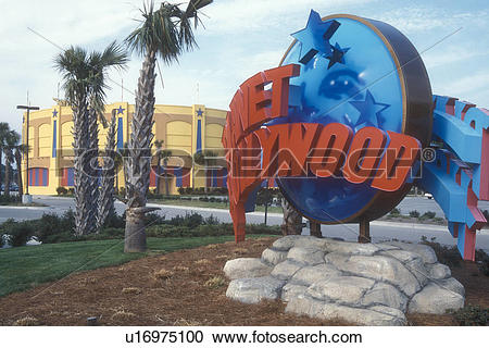 Stock Photography of Planet Hollywood, Myrtle Beach, South.