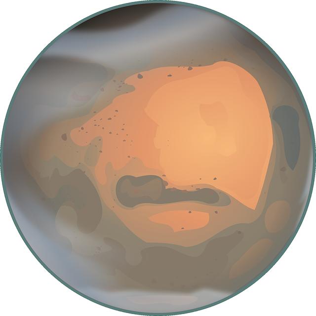 Planet Mars Clip Art Free #01vzqv.