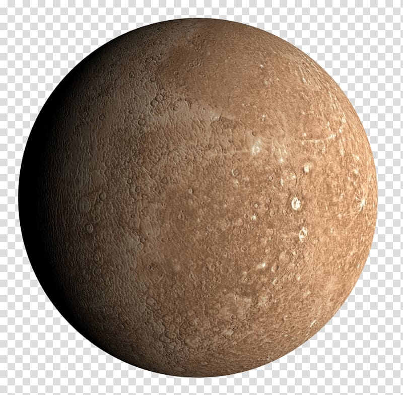 Brown planet, Mercury transparent background PNG clipart.