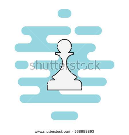 Line Pawns Stock Photos, Royalty.